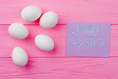 Arte de Pascua mínimo imagen de archivo libre de regalías