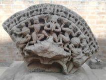 Arte de pedra imagem de stock