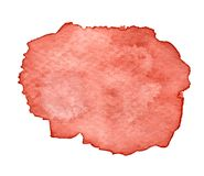 Arte de pintura salpicado acuarela de Brown fotos de archivo
