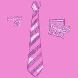 Arte de PNF cor-de-rosa Fotografia de Stock Royalty Free