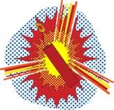 Arte de PNF de TNT ilustração do vetor