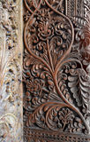 Arte de talla de madera de Bali Foto de archivo
