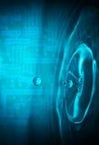 Arte de telecomunicaciones Foto de archivo libre de regalías