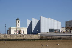 A arte de Turner Contemporary foto de stock