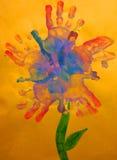 Arte de uma criança Imagens de Stock Royalty Free