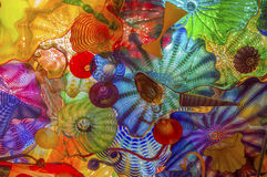 Arte de vidro imagens de stock royalty free