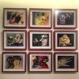 Arte de Zapata Imágenes de archivo libres de regalías