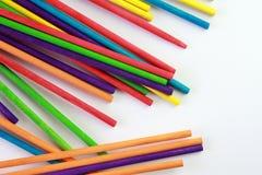 Arte dei bastoni colorati Fotografie Stock Libere da Diritti