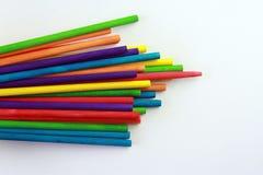Arte dei bastoni colorati Immagine Stock Libera da Diritti