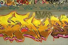 Arte dei graffiti Immagine Stock Libera da Diritti