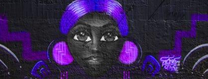 Arte dei graffiti in California Immagini Stock