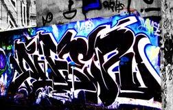 Arte dei graffiti in California Fotografia Stock Libera da Diritti