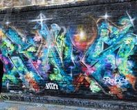 Arte dei graffiti a San Francisco, California Fotografie Stock Libere da Diritti