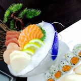 Arte dei sushi Immagine Stock Libera da Diritti