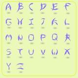 Arte del alfabeto Foto de archivo