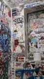 Arte del bagno nel nyc Fotografie Stock