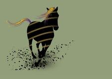 Arte del caballo libre illustration