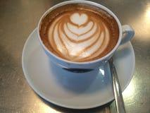 Arte del caffè Immagini Stock Libere da Diritti