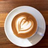 Arte del caffè Fotografia Stock Libera da Diritti