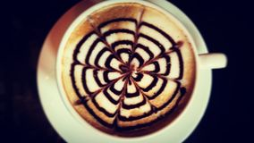 Arte del caffè Immagini Stock