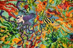 Arte del color Imagenes de archivo
