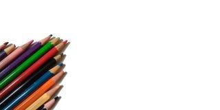 Arte del color del lápiz Imágenes de archivo libres de regalías