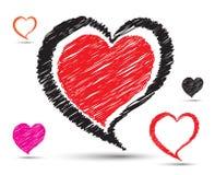 Arte del corazón Imagen de archivo