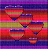 Arte del corazón del camaleón Foto de archivo libre de regalías