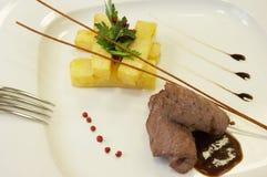 Arte del cuoco unico Fotografia Stock Libera da Diritti
