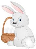 Conejito de pascua - personaje de dibujos animados - ejemplo del vector ilustración del vector