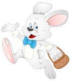 Conejito de pascua - personaje de dibujos animados - ejemplo del vector libre illustration