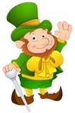 El día de St Patrick - ejemplo del vector del carácter de historieta Foto de archivo