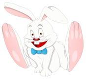 Conejito - personaje de dibujos animados - ejemplo del vector Imágenes de archivo libres de regalías