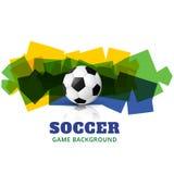 Arte del diseño del fútbol del vector ilustración del vector