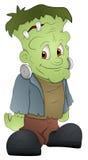 Frankenstein - personaggio dei cartoni animati - illustrazione di vettore illustrazione vettoriale