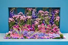 Arte del fiore Fotografie Stock