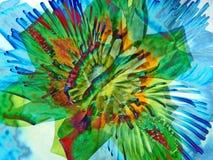 Arte del fiore Fotografia Stock Libera da Diritti