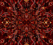 Arte del fractal stock de ilustración