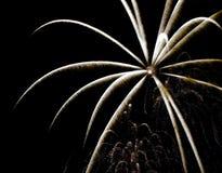 Arte del fuoco d'artificio Fotografia Stock Libera da Diritti