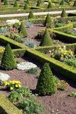 Arte del giardino parterre Giardino del nodo immagini stock