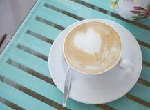 Arte del Latte Imágenes de archivo libres de regalías
