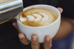 Arte del Latte Fotos de archivo