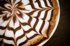 Arte del Latte Imagen de archivo libre de regalías