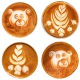 Arte del Latte Fotografía de archivo