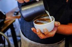 Arte del Latte Fotos de archivo libres de regalías