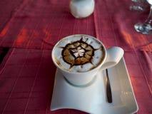 Arte del Latte Fotografía de archivo libre de regalías