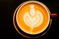 Arte del Latte Immagini Stock Libere da Diritti
