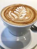 Arte del Latte Fotografie Stock