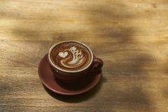 Arte del Latte Immagine Stock