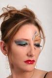 Arte del maquillaje fotos de archivo